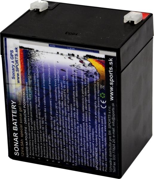 Akumulátor GT 12V/4,5Ah pre Elite 3X (456 090)
