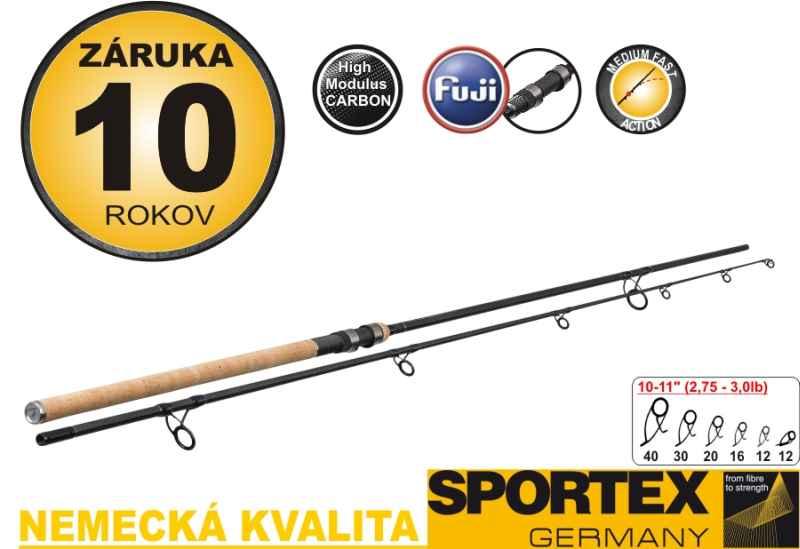 """SPORTEX-D.N.A Carp Stalker 11"""" 2,75lbs.,337cm,2,75lbs.g"""