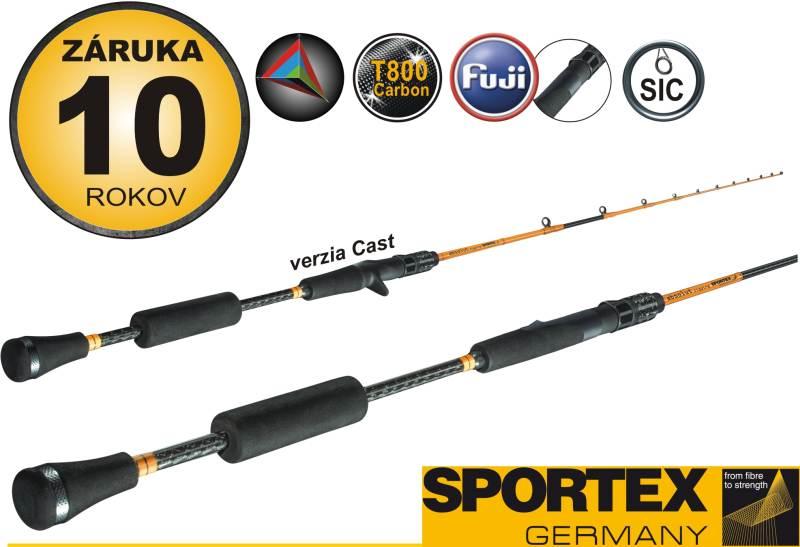 SPORTEX - ABSOLUT-vertical rods-AB1931 192cm, 200g
