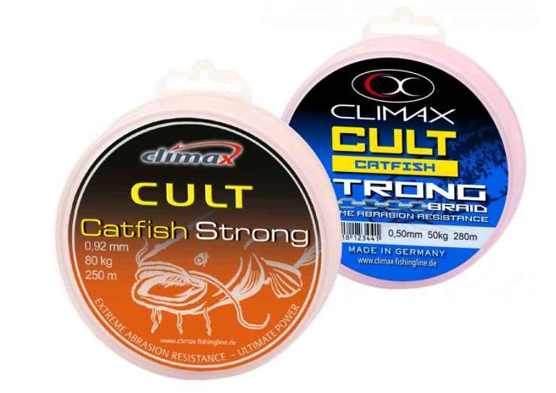 CLIMAX šňůra 280m - CULT Catfish Strong -0,60mm/60kg