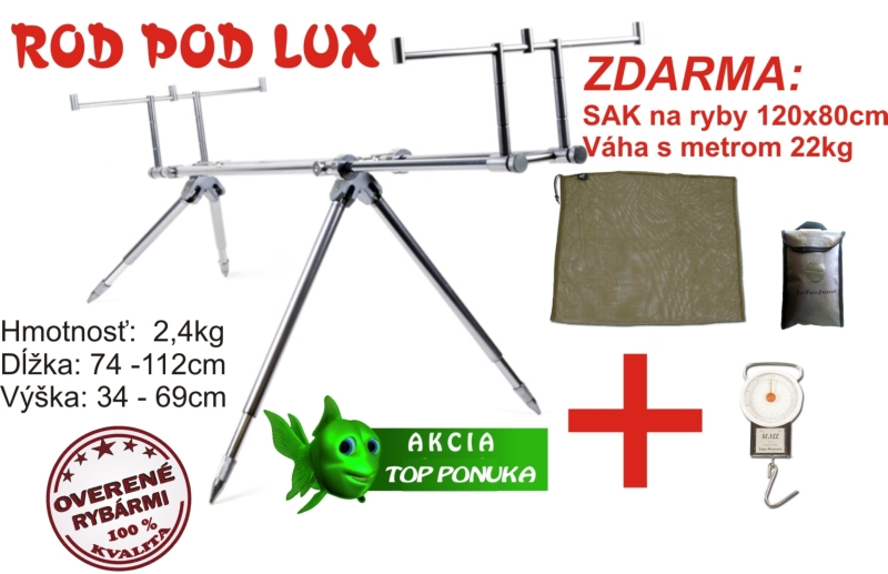 Rotpod Lux +  sak 120x85cm + váha s metrem 22kg