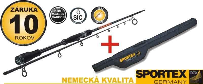 Akce Sportex-Přívlač.prut v premíovém pouzdře