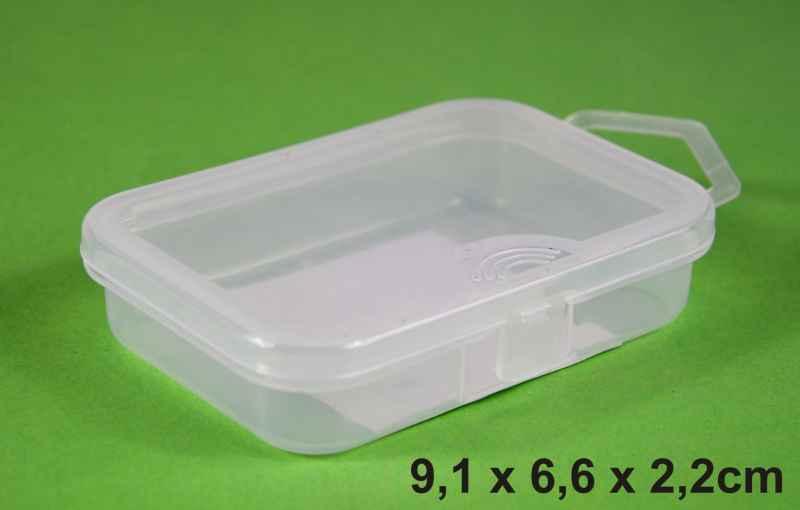 Krabička 9,1x6,6x2,2cm, 1 přihrádka