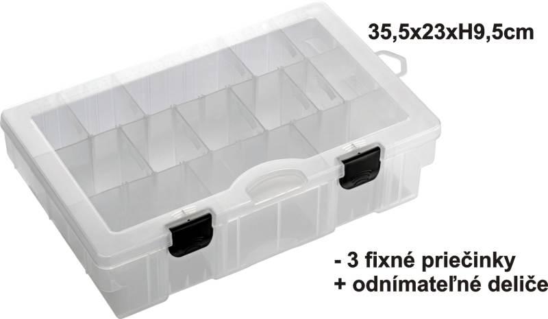 Krabička-BOX 35,5x23x9,5cm,3pevné+var.př.