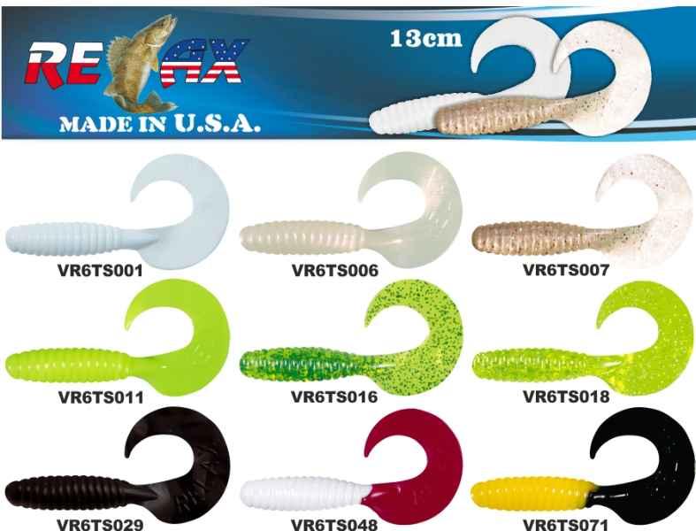 RELAX twister 6 (13cm) cena 1ks/bal5ks 4404