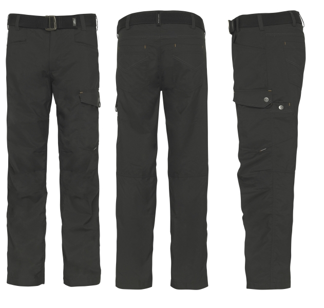 Kalhoty YUM GEOFFAnderson (Pirate black) vel.XL