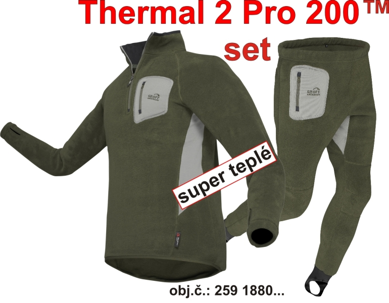 Thermal 2 PRO 200 SET (RosinGreen) vel.XXXL