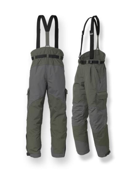 Kalhoty URUS 3 GEOFFAnderson zeleno šedé vel.S