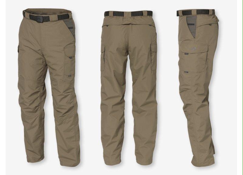 ZOON kalhoty GEOFFAnderson hnědé vel.XXXL