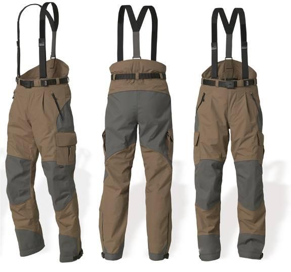 URUS 3 kalhoty GEOFFAnderson NEOPREN hnědo-šedé XS