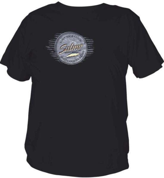 Rybářské kvalitní tričko Salmo vel.S