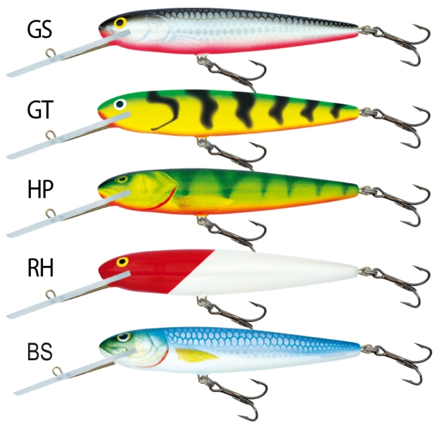 SALMO Wobler Whitefish SW13SDR barva BS