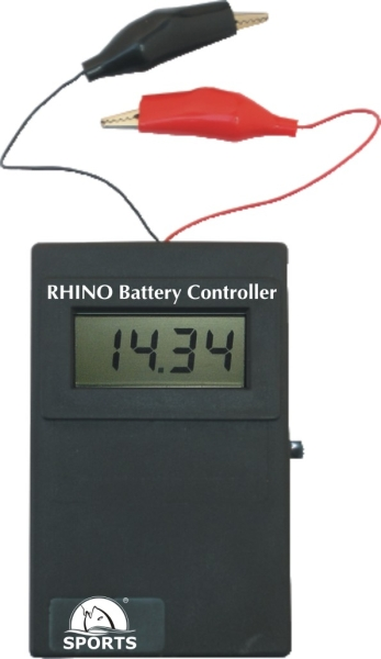 Rhino battery controller 0 - 20 V