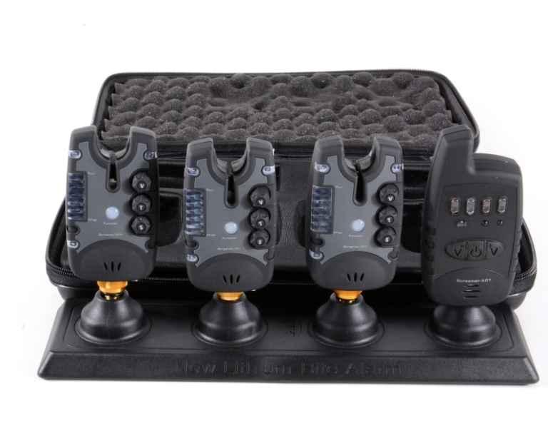 Signalizátory s příposlechem 3ks + řrijímač + kufřík