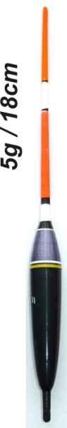 Splávek na ryby, délka 180mm / nosnost 5 gr