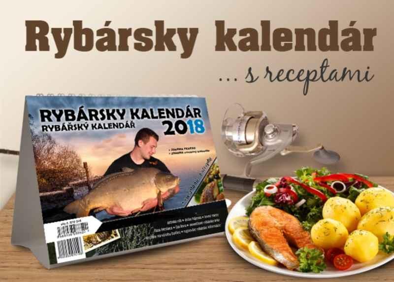 Sports Rybářský kalendář s recepty 2018+dárek