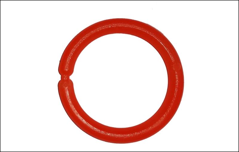 Signální kroužek - SPORTS velký oranžový