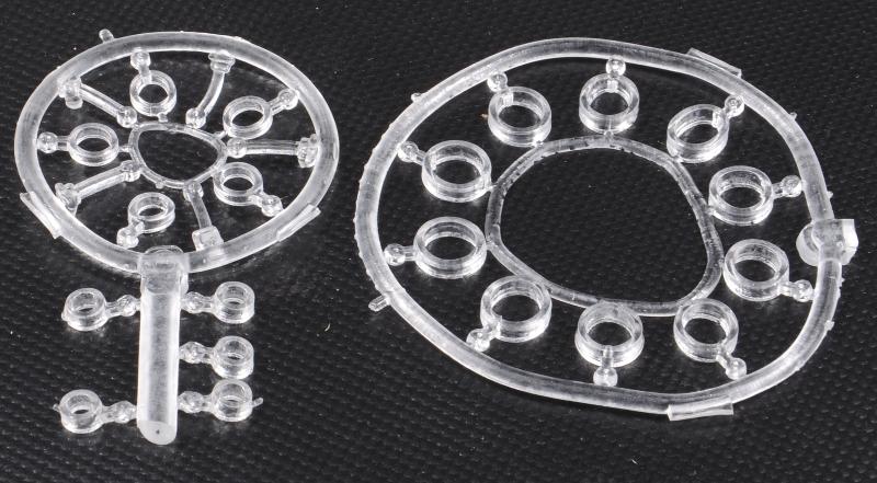 Boilies stopper (silikonové tyčinky a kroužek)