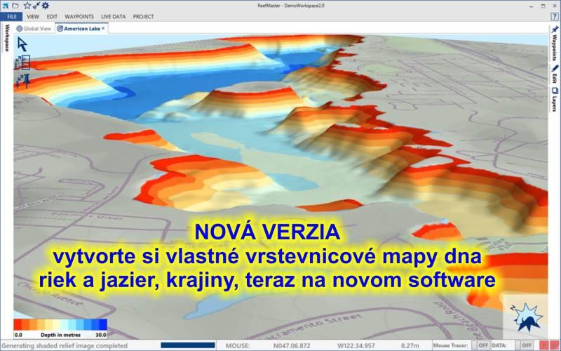 software HDS 3D prostorový modeling II. v2.0