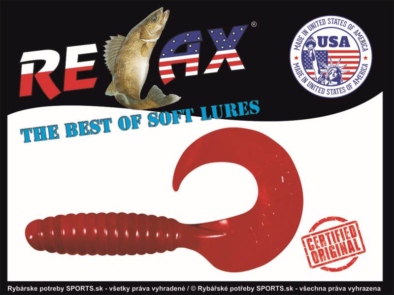 RELAX Twister 5  VR5 (9cm)cena1ks/bal10ks 6029