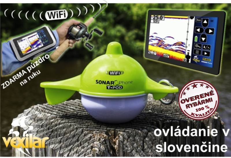 Vexilar Sonarphone SP100 Wifi sonar - tablet, smartfon