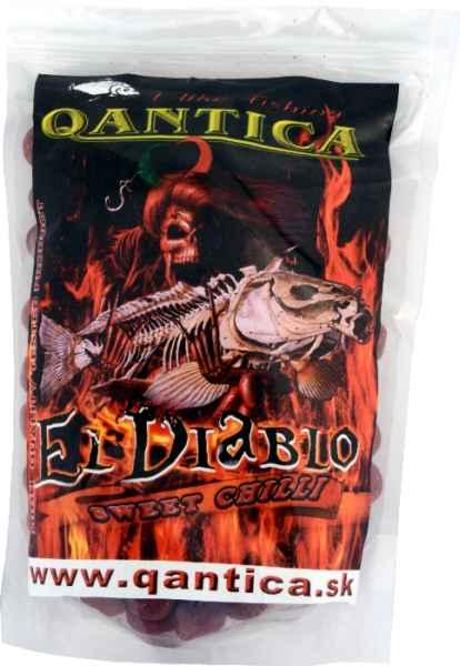 QANTICA boilies rozpustné 20mm / 1kg Evolution,Chilli Oliheň