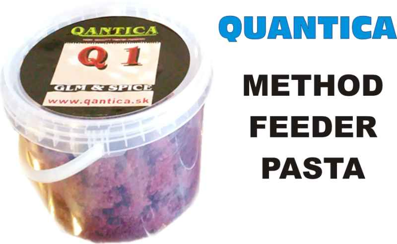 QANTICA Method feeder pasta 1kg Super liver,Játra