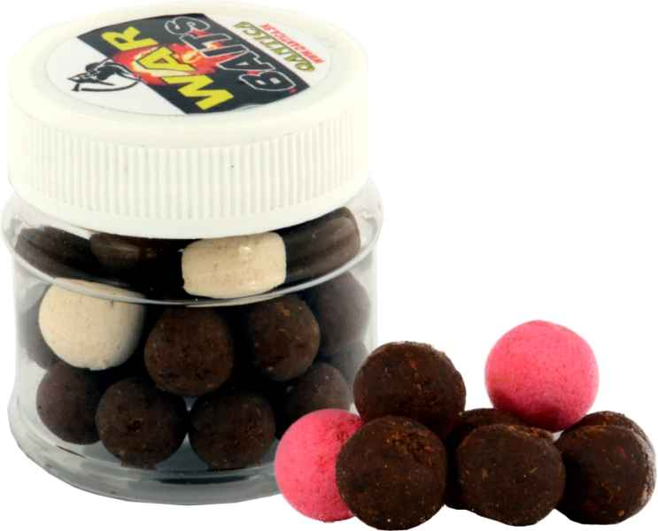 WAR mini boilies 10mm + POP UP 50ml Kokos