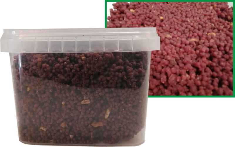 Qantica Method Feeder micro mass Robin red + Halibut 600g