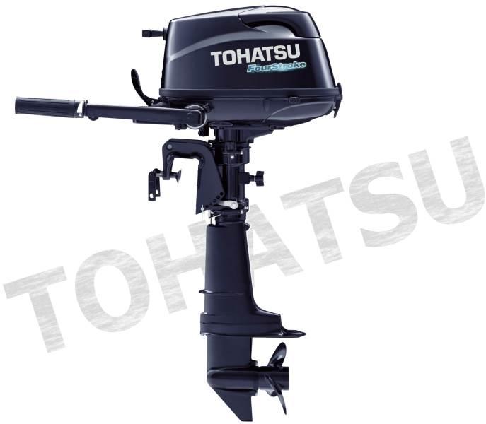 TOHATSU benz. lodní motor MFS 5C,dl.noha