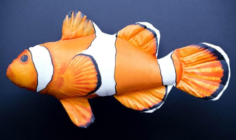 Dekorační polštář - Klaun Očkatý 56cm