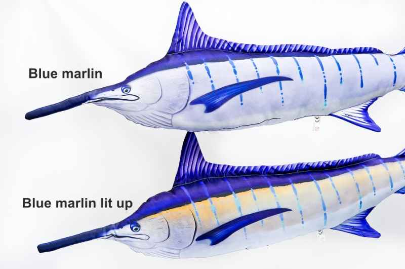 Dekorační polštář - Blue Marlin 118cm