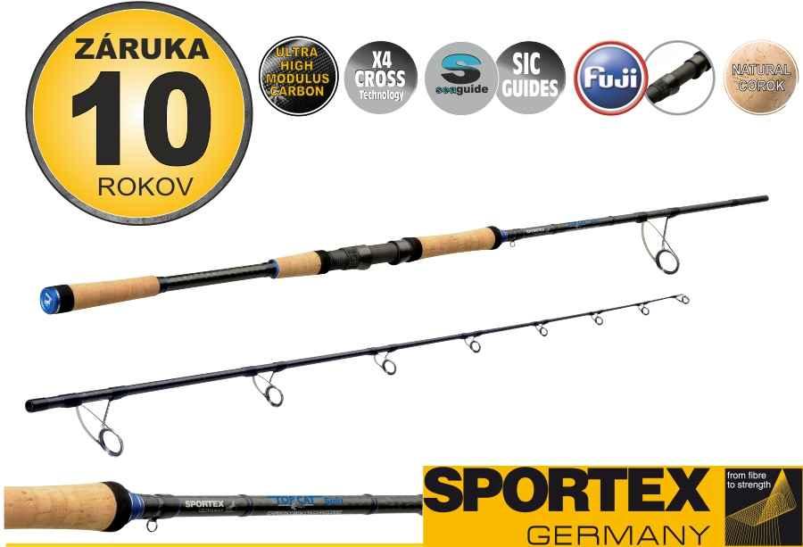Sumcové pruty SPORTEX Top Cat Spin 2-díl 250cm / 60-120g