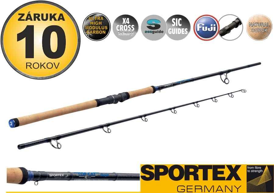 Sumcové pruty SPORTEX Top Cat Boje 2-díl 275cm / 200-500g