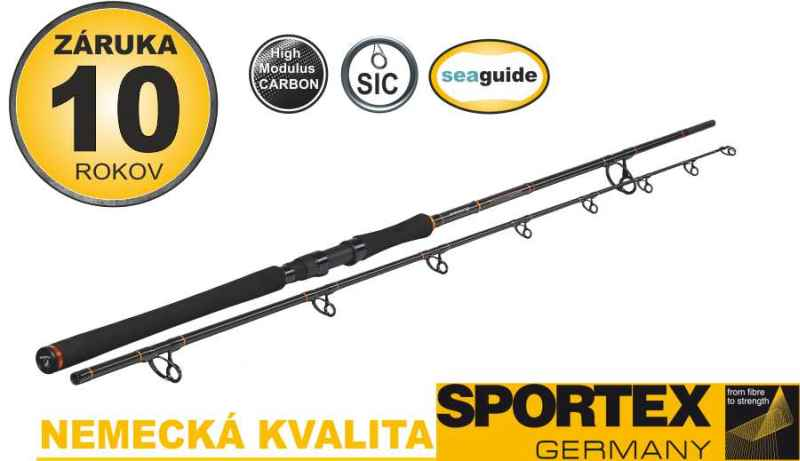 Sumcové pruty SPORTEX Catfire Boje 2-díl 270cm 250-500g