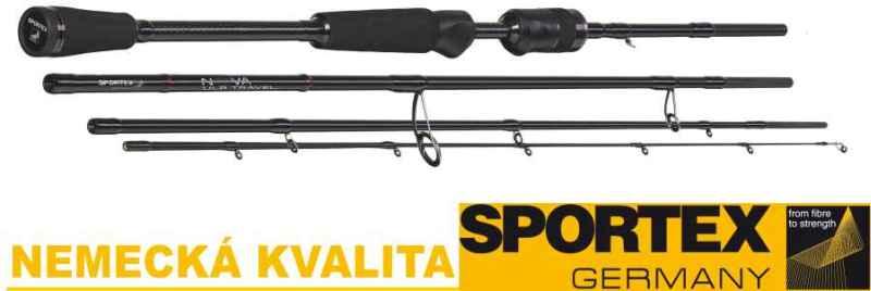 Přívlačové pruty SPORTEX Nova Ultra Light Travel 210cm 2-8g