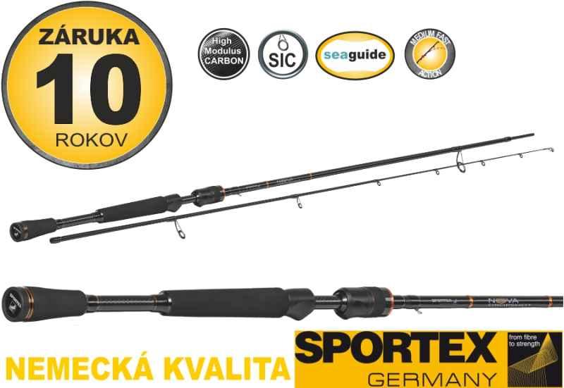 Přívlačové pruty SPORTEX Nova Dropshot 2-díl 225cm 10g