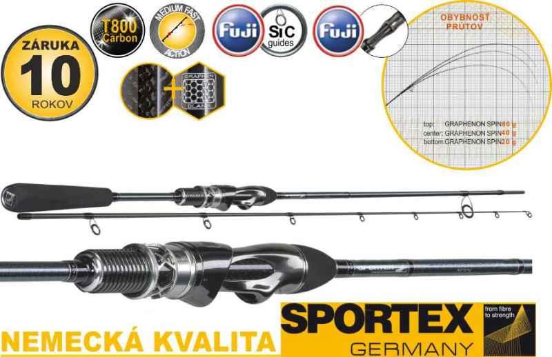 Sportex Graphenon Spin 2-díl 270cm / 60g