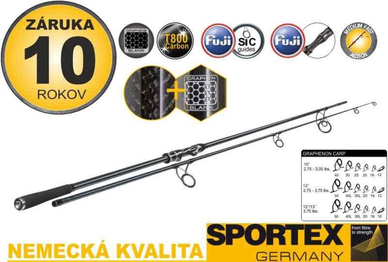 Sportex Graphenon Carp 2-díl 366cm / 3,75lbs