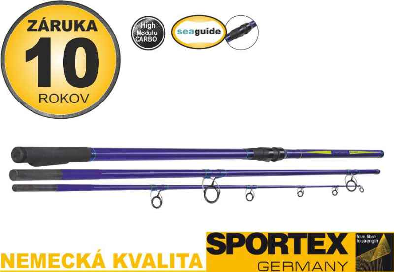 Mořské pruty SPORTEX Neptoon Surf 3-díl 420cm / 100-200g
