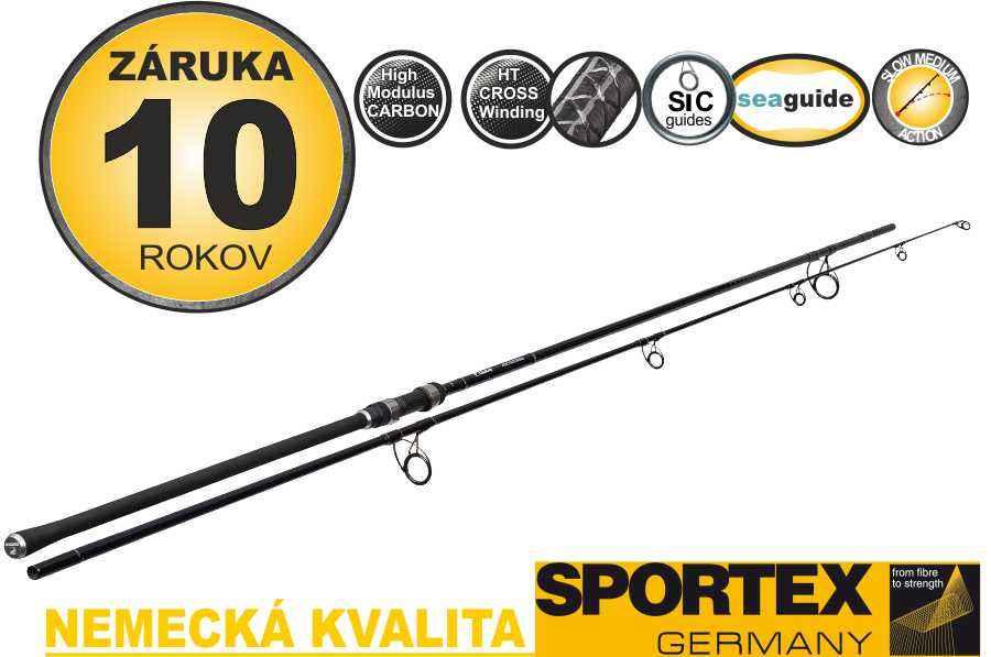 Kaprařské pruty SPORTEX Paragon Stalker 300cm 2-díl 2,75lbs
