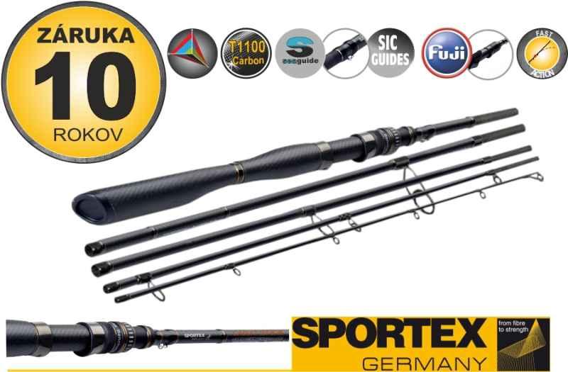 Přívlačové pruty SPORTEX Carat GT-S Spin Travel 5-díl 300cm / 70g