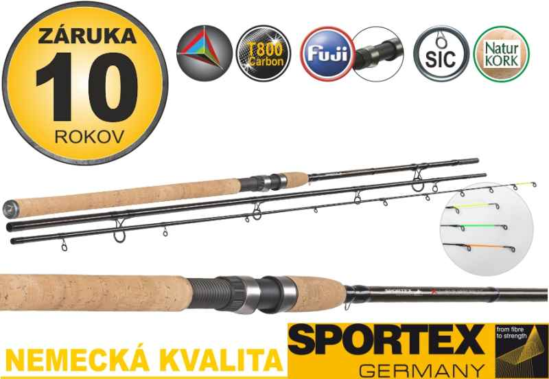 Sportex Xclusive Feeder NT Light 360cm,40-80g