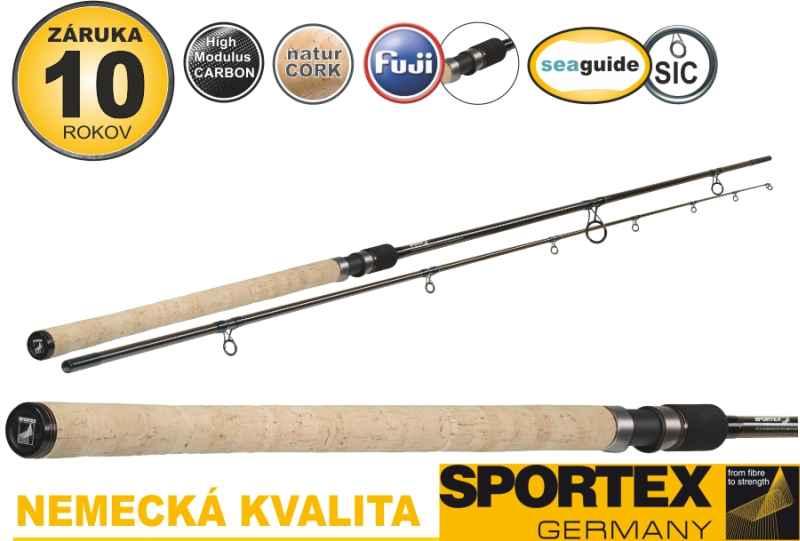 Match pruty SPORTEX Xclusive Barbel 2-díl 366cm / 1,75+2,25lbs