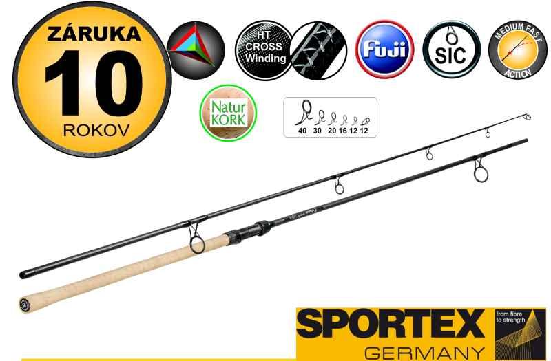 Sportex FBC Carp stalker- 330cm,2,75lb, korek