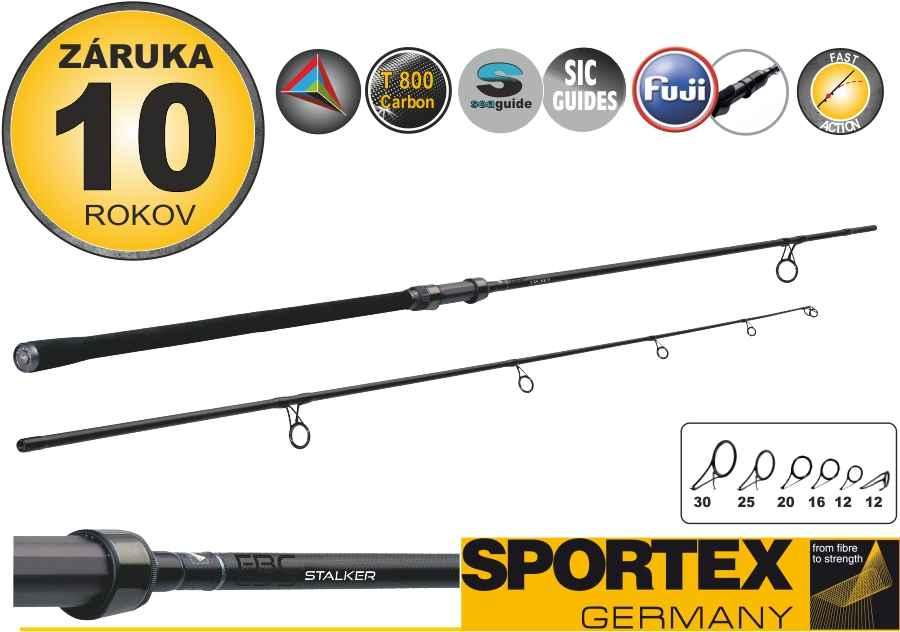 Kaprové pruty SPORTEX FBC CS-3 Stalker 2-díl 300cm / 3,00lbs