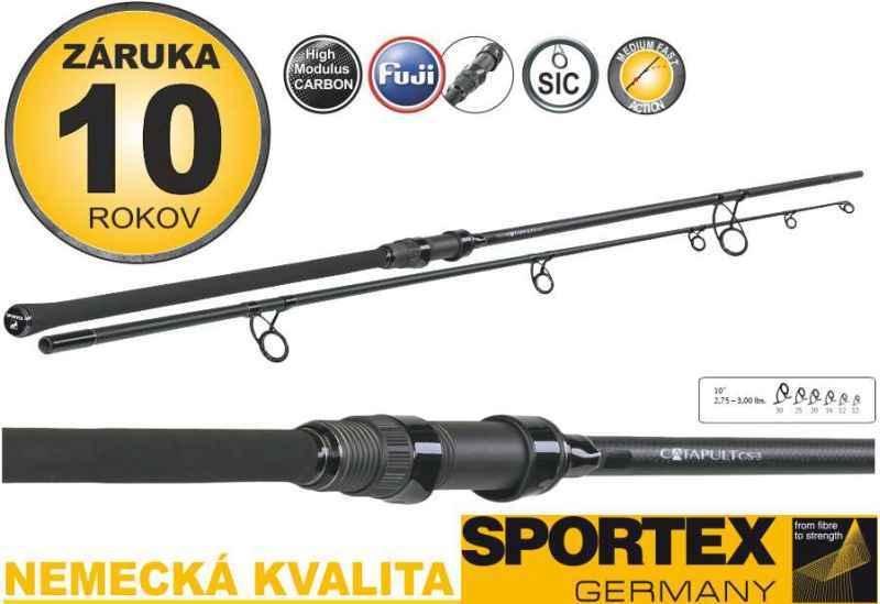 Kaprové pruty SPORTEX Catapult CS-3 Stalker 2-díl 300cm / 2,75lbs