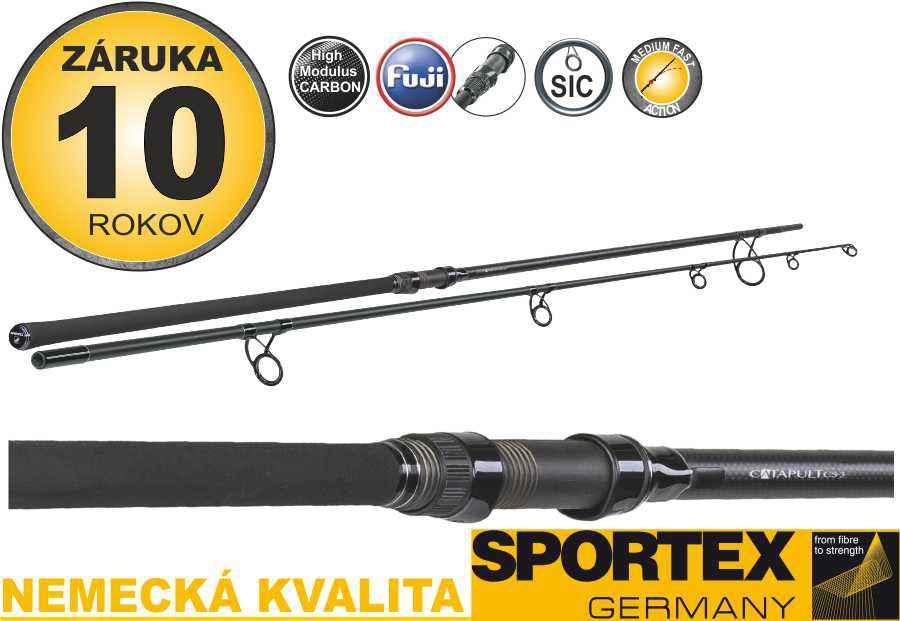 Kaprové pruty SPORTEX Catapult CS-3 Distance 396cm / 3-5oz