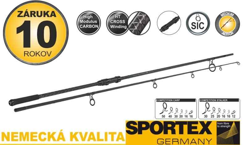 Kaprové pruty SPORTEX Competition Carp CS-4 2-díl 365cm 3,5lb
