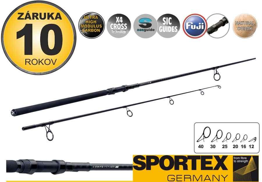 Kaprové pruty SPORTEX Competition CS-4 Breakout 300cm / 3,25lbs